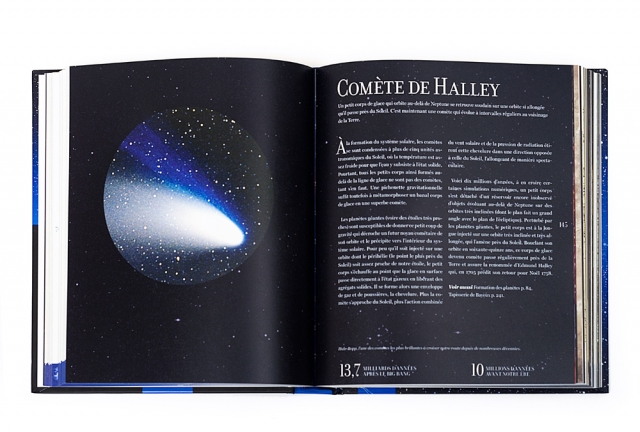 Le beau livre l'Univers