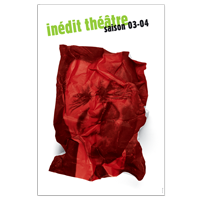 Inédit théâtre saison 03-04