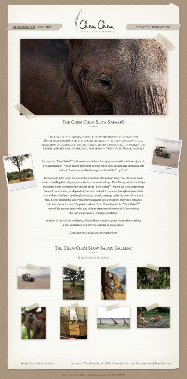 The Chem Chem Slow Safari® | Chem Chem Safari Lodges
