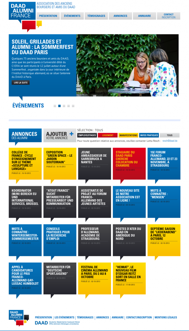 DAAD Alumni France – home