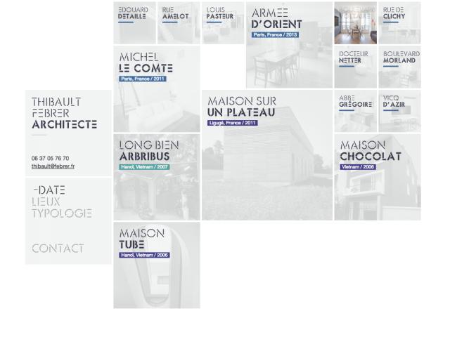 Thibault Febrer Architecte – home