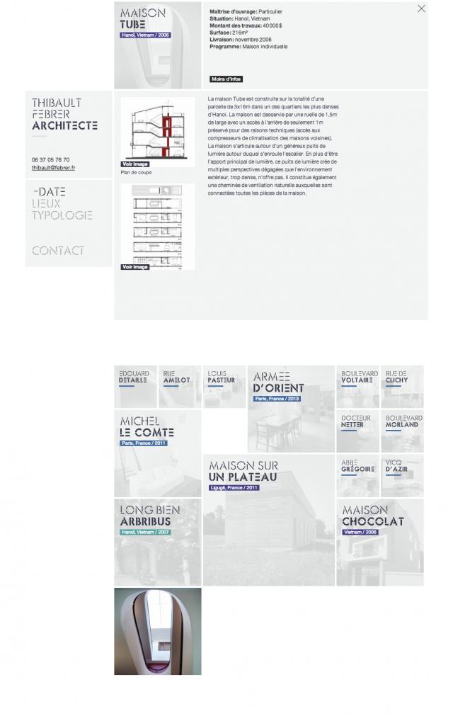 Thibault Febrer Architecte – Maison Tube